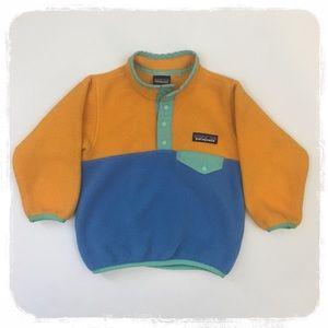 Patagonia Kid's Colorblock Fleece sz. 12-18 mths